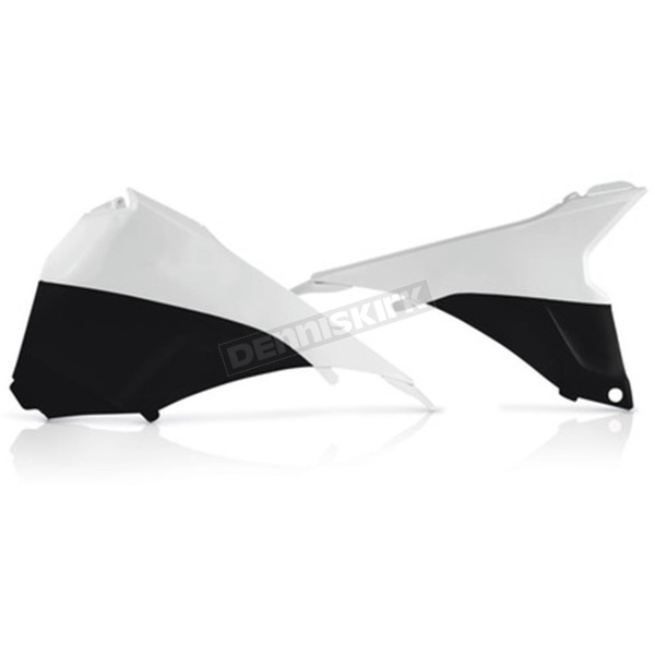 Acerbis Black/White Air Box Cover - 2314291035