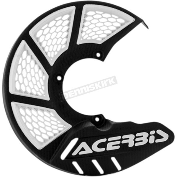 Acerbis Black/White Mini X-Brake Disc Cover - 2630551007