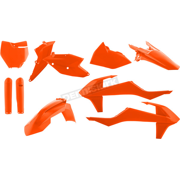 Acerbis 2016 Orange Full Replacement Plastic Kit - 2421065226