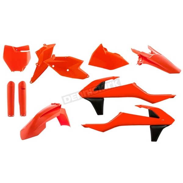 Acerbis Flo Orange Full Replacement Plastic Kit - 2421064617