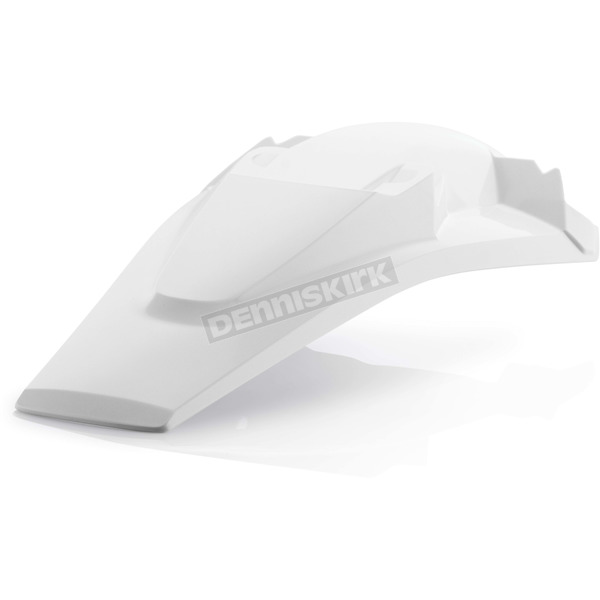 Acerbis White Rear Fender - 2634030002