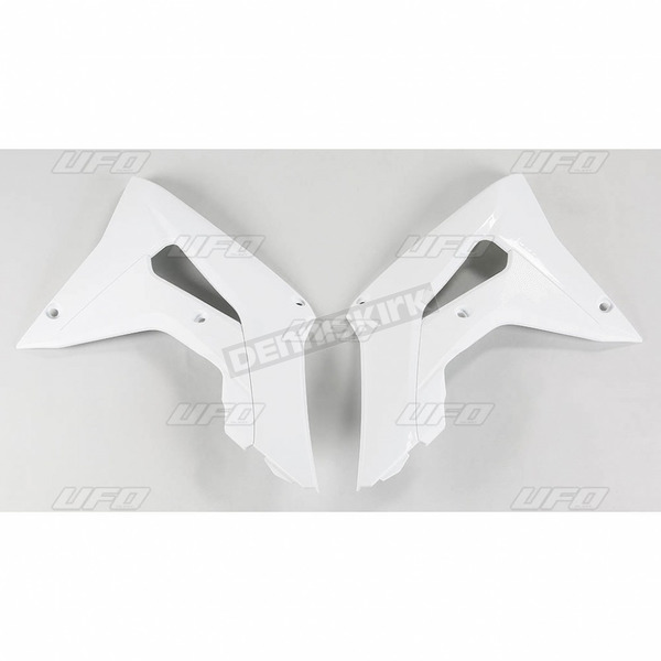 UFO White Radiator Covers - HO04682-041