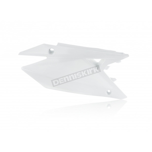 Acerbis White Side Panels  - 2686500002
