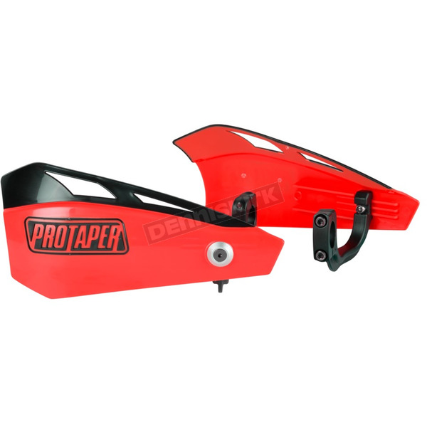 Pro Taper Red Brushguard Kit - 11-040D RED