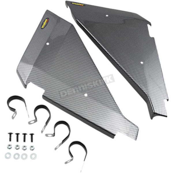 Black Carbon Side Panels - 19483-30