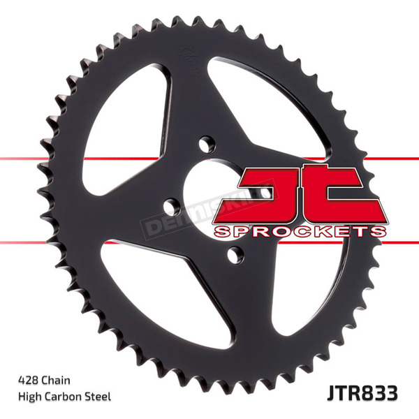 JT Sprockets 428 54 Tooth Rear C49 High Carbon Steel Sprocket - JTR833.54