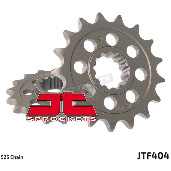 JT Sprockets Front Chromoly Steel Alloy 525 15 Tooth Sprocket - JTF404.15