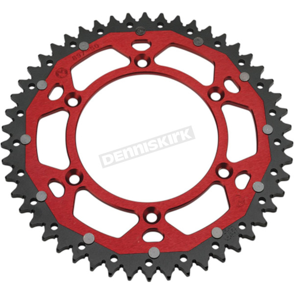 Moose 52 Tooth Red Dual Rear Sprocket  - 1210-1474