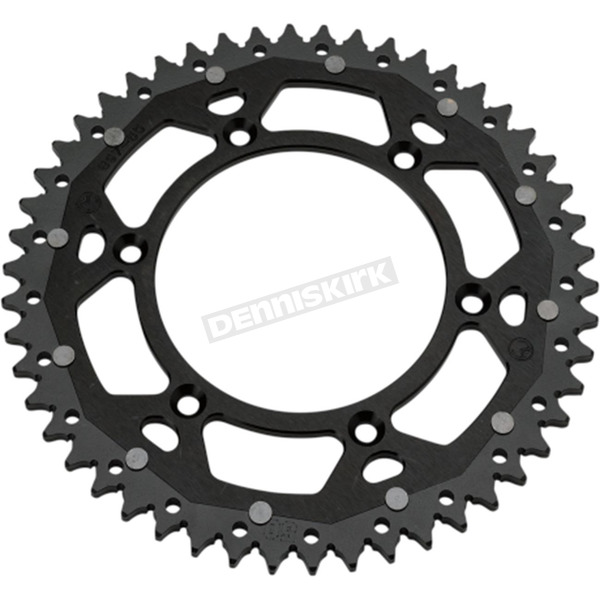 Moose 50 Tooth Black Dual Rear Sprocket  - 1210-1512