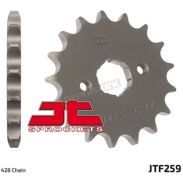 JT Sprockets Front Chromoly Steel Alloy 428 17 Tooth Sprocket - JTF259.17