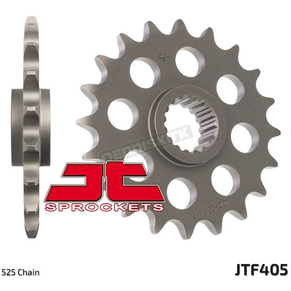 JT Sprockets Front Chromoly Steel Alloy 525 19 Tooth Sprocket - JTF405.19