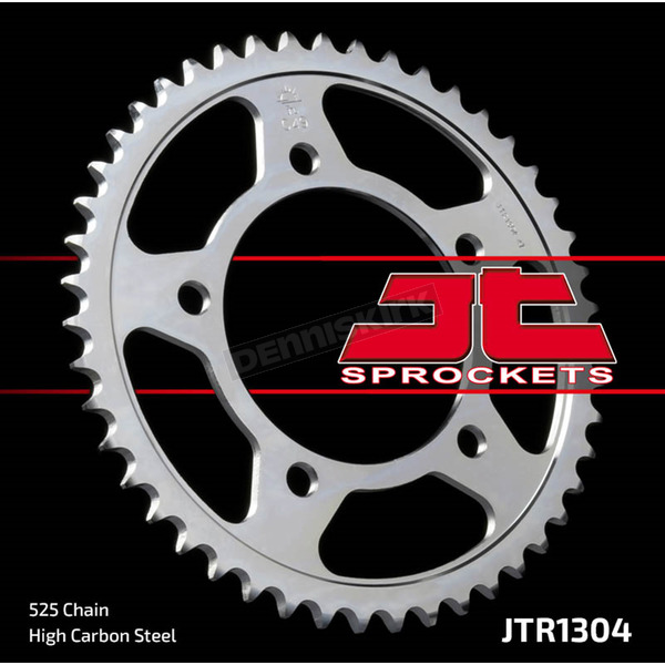JT Sprockets 525 47 Tooth Rear C49 High Carbon Steel Sprocket - JTR1304.47