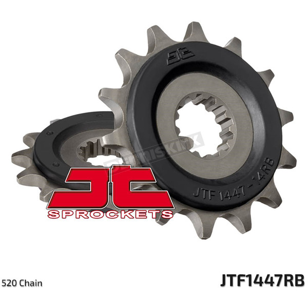 JT Sprockets Front Rubber Cushioned Sprocket - JTF1447.14RB