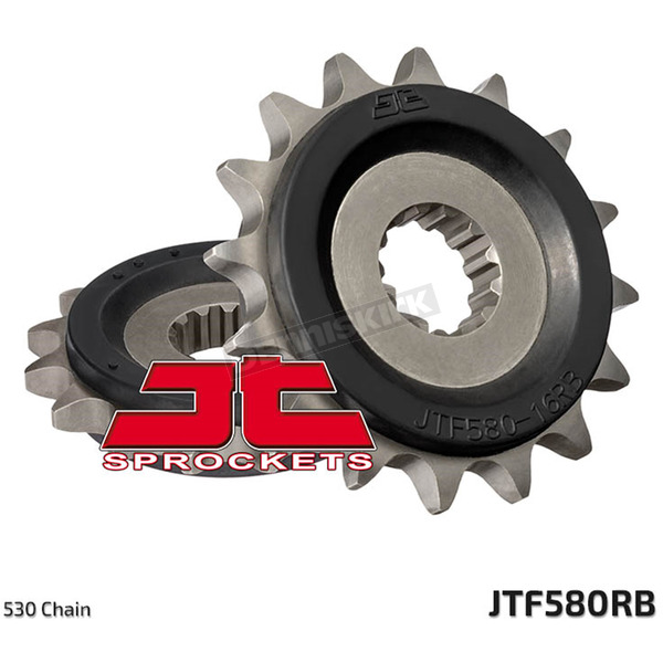 JT Sprockets Front Rubber Cushioned Sprocket - JTF.580.17RB