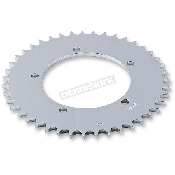 British Customs Polished Rear Solid Sprocket  - BC705-002-43-P