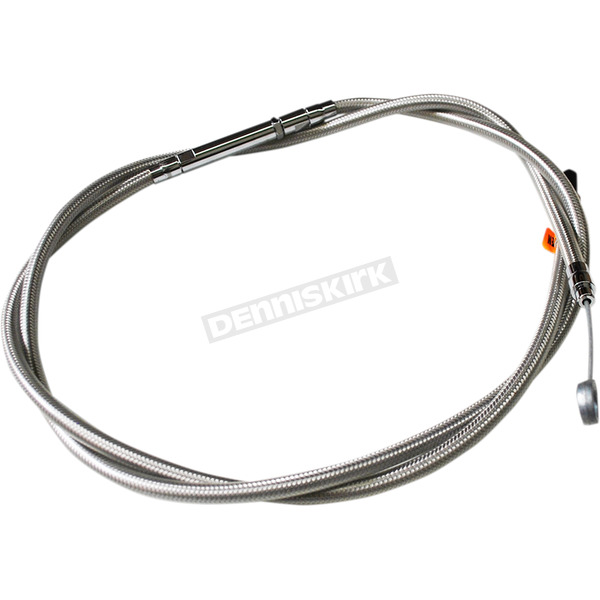 LA Choppers Stainless Steel Clutch Cable for use w/15