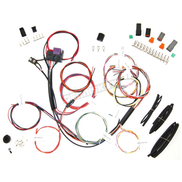 Complete Bike Wiring Harness Kit - NCBH-01-C on