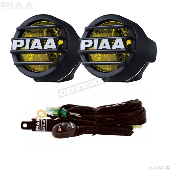 PIAA LP530 Ion Yellow 3.5 in. SAE Compliant LED Fog Light Kit - 22-73530