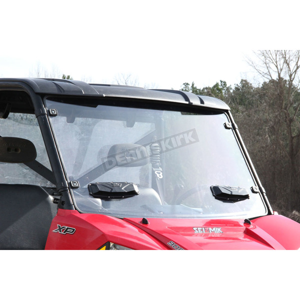Seizmik Vented Full Windshield - Reg Poly - 25025