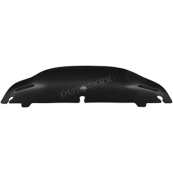 Klock Werks Black 4 in. Super Low Flare Windshield  - 2310-0672