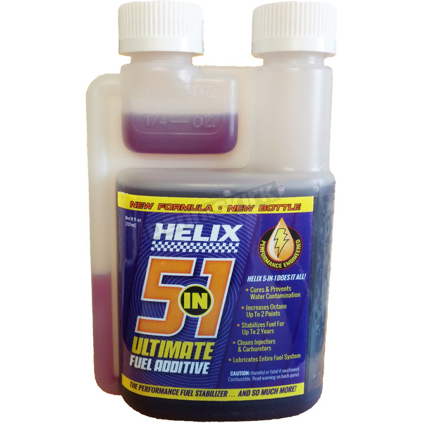 Helix Racing Products 5-in-1 Fuel Treatment - 700604500837