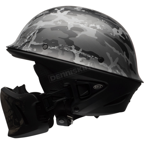 Bell Helmets Black/Silver Rogue Ghost Recon Camo Helmet - 7081196