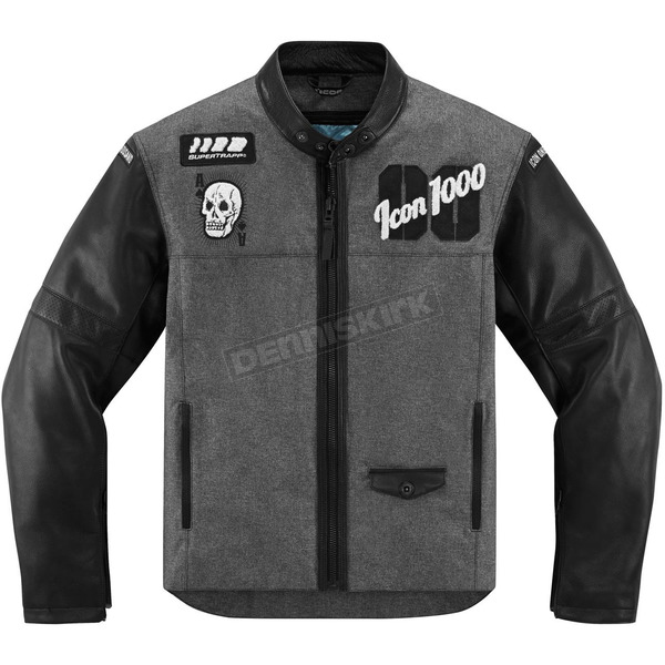 Icon 1000 Black Vigilante Stickup Jacket - 2820-3487