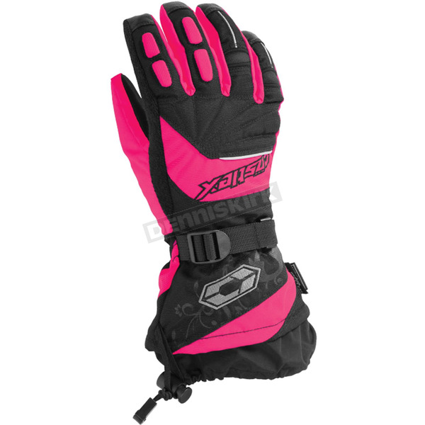 Castle X Women's Hot Pink Rizer G7 Gloves - 74-4228