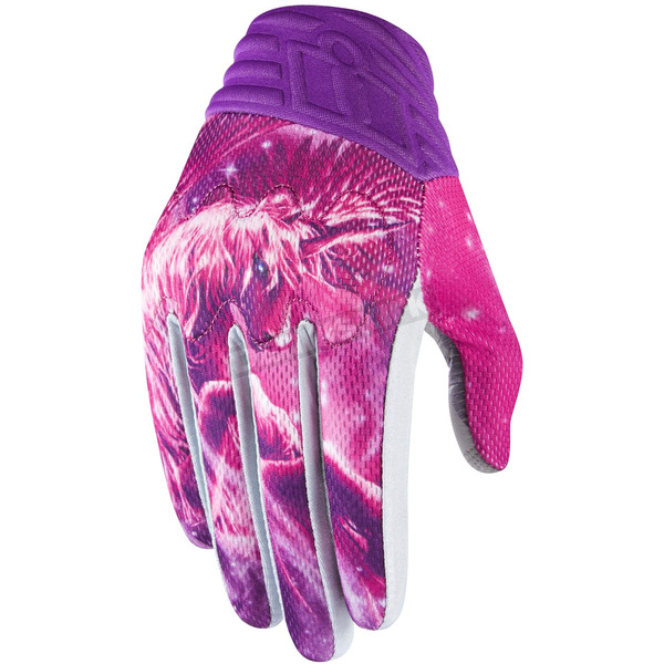 Icon Womens Pink Anthem Sweet Dreams Gloves - 3302-0489