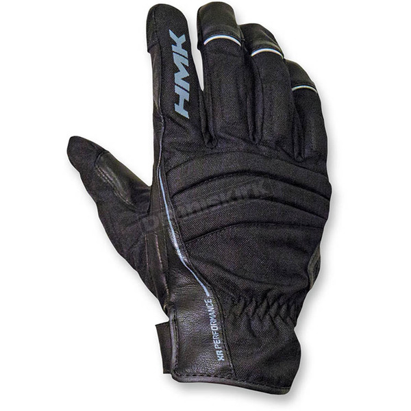 HMK Black Team Gloves - HM7GTEABXL