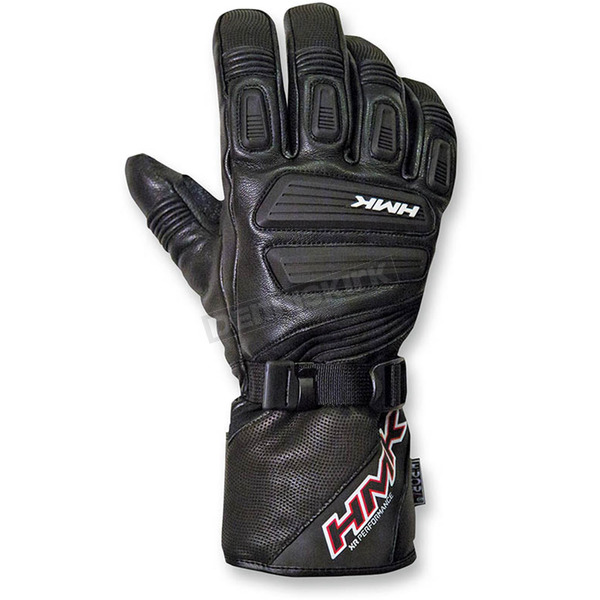 HMK Black Action Gloves - HM7GACTBMD