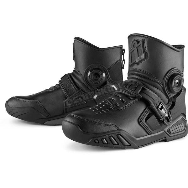 Icon Black Accelerant Boots - 3403-0782