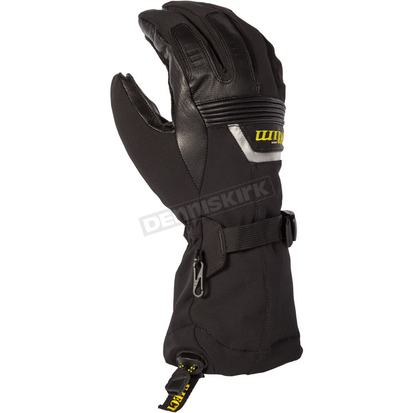 Klim Black Fusion Gloves - 3087-001-130-000
