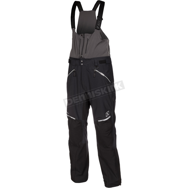 Klim Black Stealth Bibs - 6051-001-250-000