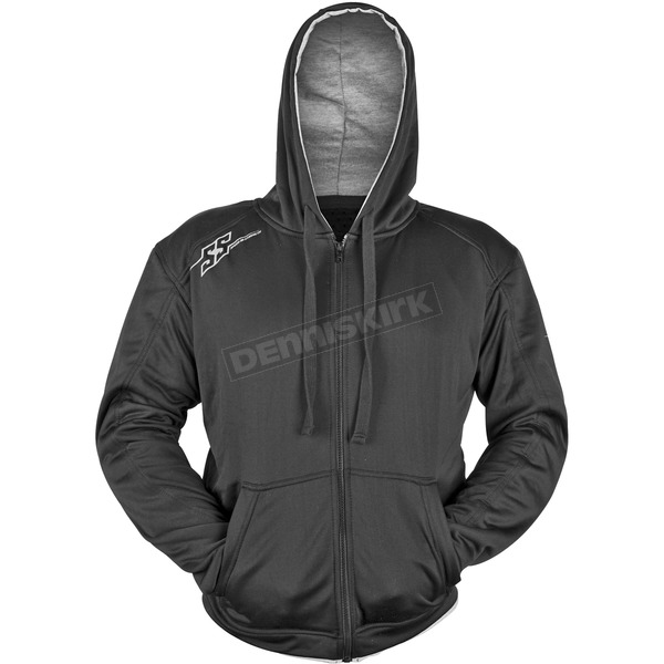 Speed and Strength Black Go For Broke Armored Hoody - 87-0155