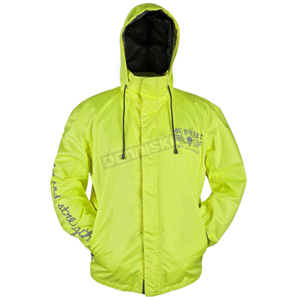 Speed and Strength Hi Vis We The Fast Rain Shell - 87-1146