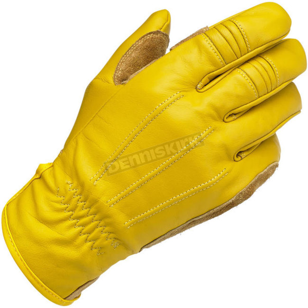 Biltwell Gold Work Gloves - GW-SML-01-GD