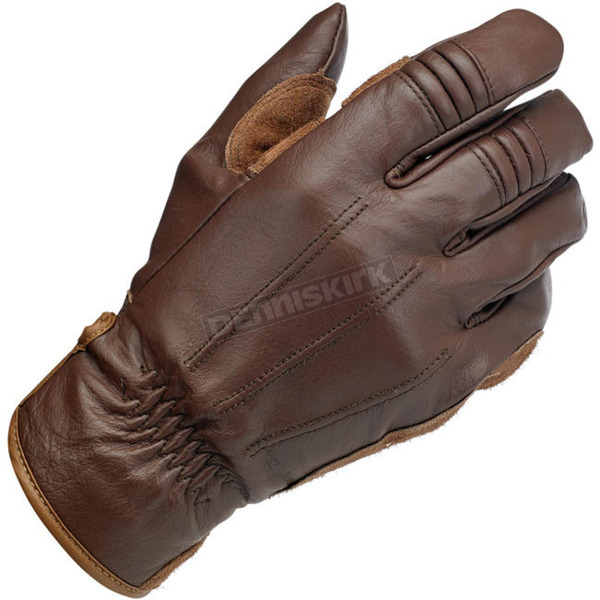 Biltwell Chocolate Work Gloves - GW-XSM-01-CO