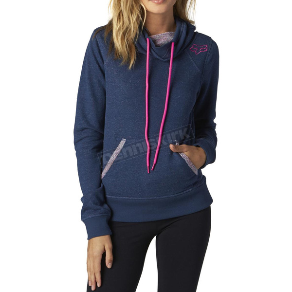 Fox Women's Midnight Vitalize Pullover Hoody - 16180-329-XS