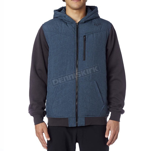 Fox Sulphur Blue Gorge Zip Hoody - 16232-446-2X