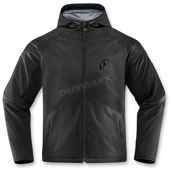 Icon Black Merc Stealth Jacket  - 2820-3866