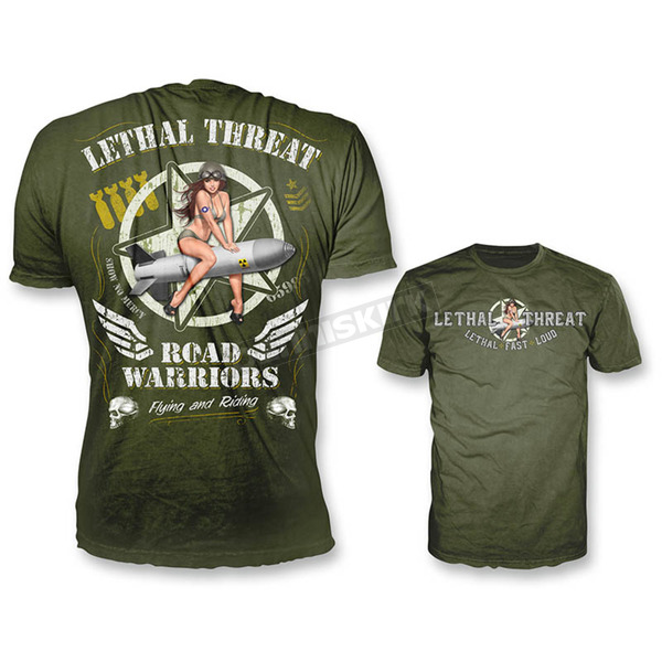 Lethal Threat Green Widow Maker T-Shirt - LT20354XL