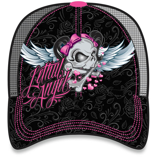 Lethal Threat Girl Skull Hat - HT82039