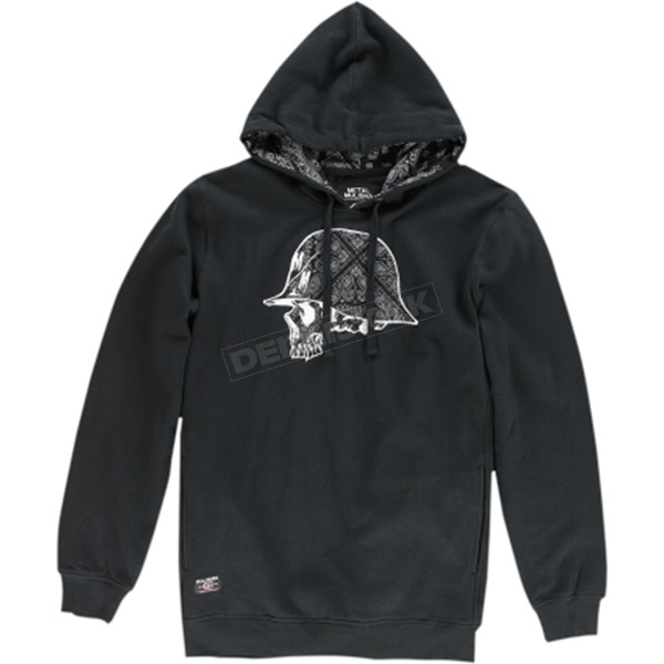 Metal Mulisha Pack Hooded Pullover - FA6510006BLKM