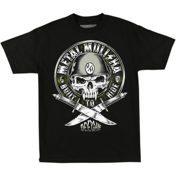 Metal Mulisha Deegan Built to Ride T-Shirt - FA6518042BLKM