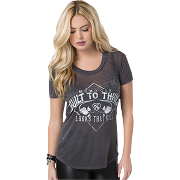 Metal Mulisha Womens Looks That Kill T-Shirt - FA6718010CHAM