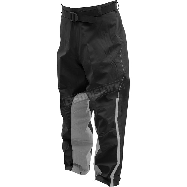 Frogg Toggs Black Toadskinz Reflective Rain Pant - NTH85106-01XX