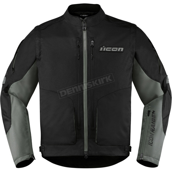 Icon - Raiden Black Watchtower Jacket - 2820-4039