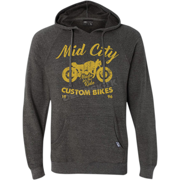 Factory Effex Charcoal Mid City Pullover Hoody - 20-88824