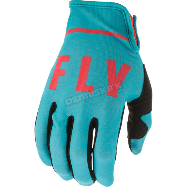 Youth Blue/Coral Special Edition Lite Gloves - 373-71905
